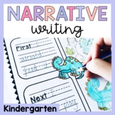 Kindergarten Narrative Writing Prompts and Worksheets