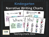 Kindergarten Narrative Writing Small Moments Charts (Lucy Calkins Inspired)