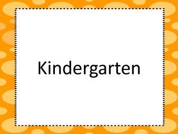 Kindergarten National Art Standards Landscape