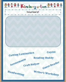 Kindergarten Newsletter Editable