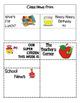 Kindergarten EDITABLE ClassRoom Newsletter:  Our Week at a Glance