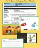 Kindergarten Next Gen Science - Plants and Animals (K.LS.1.1)