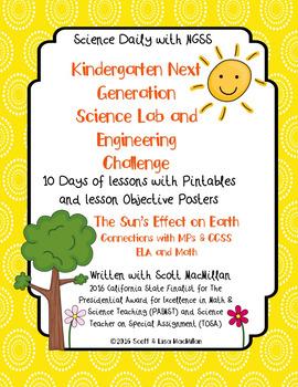 Kindergarten NGSS STEM Labs & Engineering Challenges with Printables