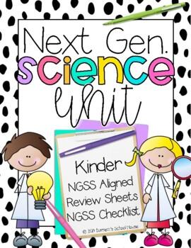 Kindergarten Next Generation Science, Math & Literacy Unit