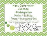 Kindergarten Next Generation Science Motion Complete Unit