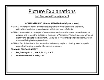 """NGSS Posters - Kindergarten - (Common Core Align) - """"I Can..."""""""