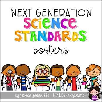 Kindergarten Next Generation Science Standards Chevron Style