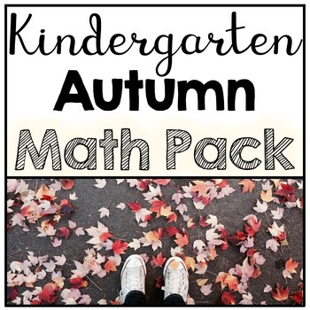 Kindergarten No Prep Autumn Math Review