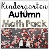 Kindergarten No Prep Autumn Math Review