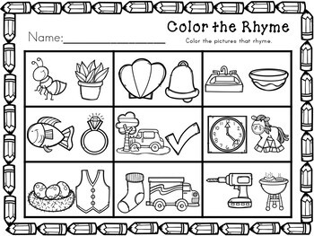 Kindergarten No Prep Bundle - Math and Literacy Actitivities