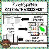 Test Prep Kindergarten Math Review - Common Core Tasks For Each Standard
