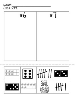 Kindergarten No Prep Number Sense Bundle