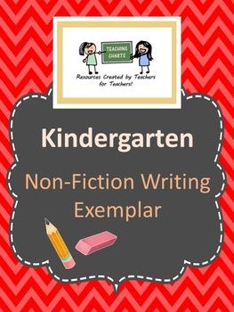 Kindergarten Non-Fiction Writing Exemplar