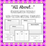 Kindergarten Non-Fiction Writing Made Easy!