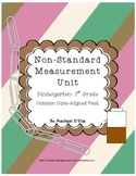NonStandard Measurement Unit {A Common Core Activity Pack for K-1st}