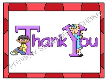 Kindergarten Notes: Welcome and Thank You Writing Paper for Teachers