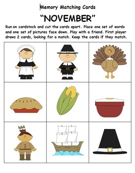 Kindergarten November