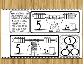 Kindergarten Number Bonds + Addition Mini-Books-- Freebie