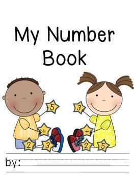 Kindergarten Number Book (0-20)  - Common Core Alligned