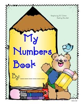 Kindergarten Number Book 0-10