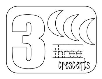 Kindergarten Number Book 1-5