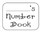 Kindergarten Number Book 1-5