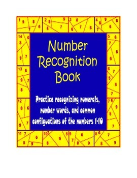 Kindergarten Number Book