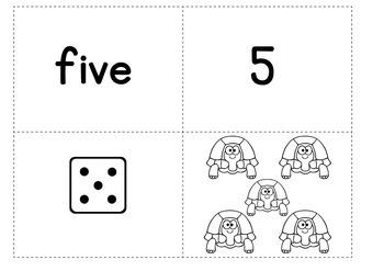 Number Fun Activities for Kindergarten - Week of Number 5