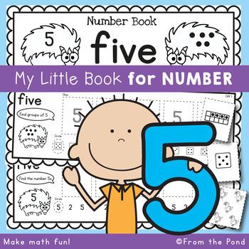 Number Workbook - Number Five - 5 Day Booklet