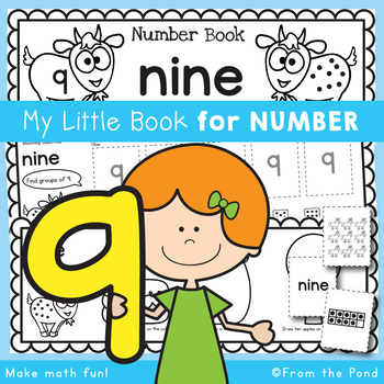 Number Workbook - Number Nine - 5 Day Booklet