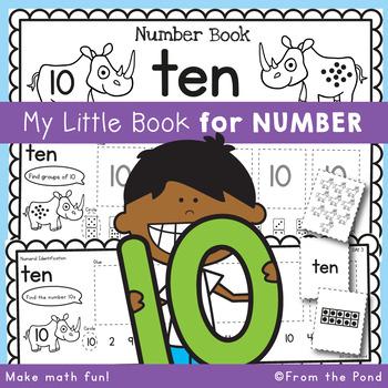 Number Workbook - Number Ten - 5 Day Booklet