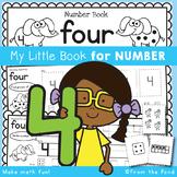 Number Workbook - Number Four - 5 Day Booklet