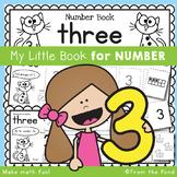 Number Workbook - Number Three - 5 Day Booklet