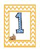 Kindergarten Number Hopscotch Game
