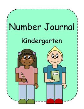 Kindergarten Number Journal 1-20