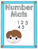Kindergarten Number Mats 1-10