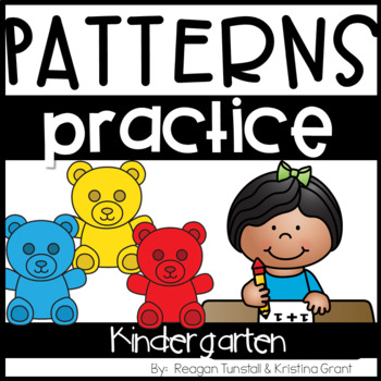 Kindergarten Number Patterns Practice Pages