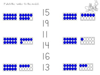Kindergarten Number Practice to 100
