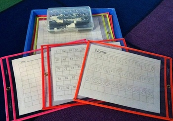 Kindergarten Number Printing Practice Pages