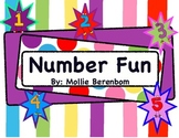 Kindergarten Number Recognition (Number Fun)