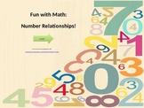 Kindergarten Number Relationships Game 10s & 100s