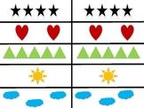 Kindergarten Number Response Cards 1-10