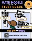 1st Grade Number Sense:  5-Groups Cutout Cards