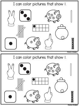 Kindergarten Number Sense Books