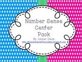 Kindergarten Number Sense Centers