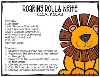 Kindergarten Math Centers: Number Sense
