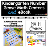 Kindergarten Number Sense Math Centers and eBook BUNDLE