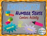 Kindergarten Number Sense within 10 Activity Centers Hands