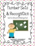 Kindergarten Number Sets and Recognition