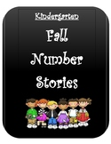 Kindergarten Number Stories